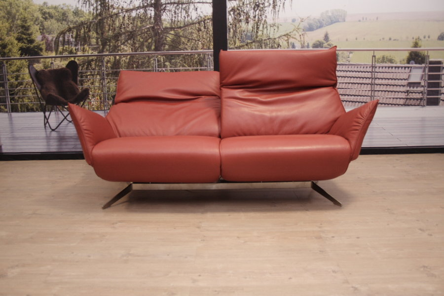 Koinor Modell Evita Sofa In Leder C Classic Rost Outlet Gera