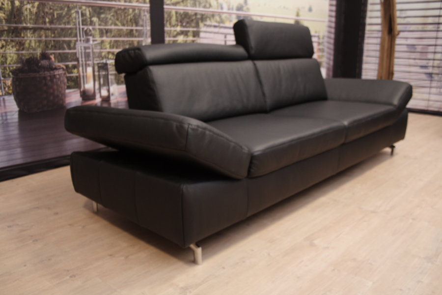 k w polsterm bel modell 7499 garnitur in leder bronco outlet. Black Bedroom Furniture Sets. Home Design Ideas