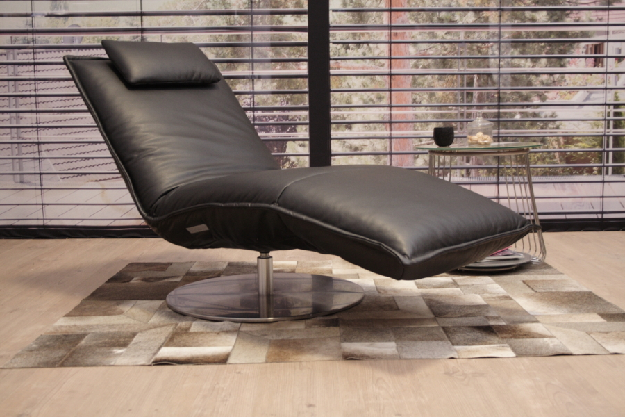 Koinor KOINOR Joplin Relaxliege P4 In Leder A Tara Noir Home Design Ideas