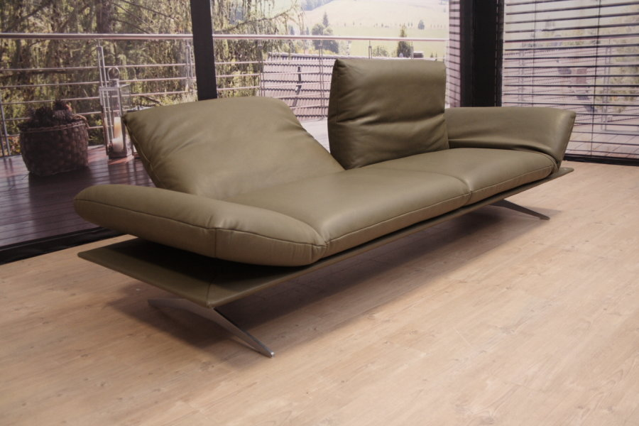 koinor modell francis c hb in leder b olive ebay. Black Bedroom Furniture Sets. Home Design Ideas
