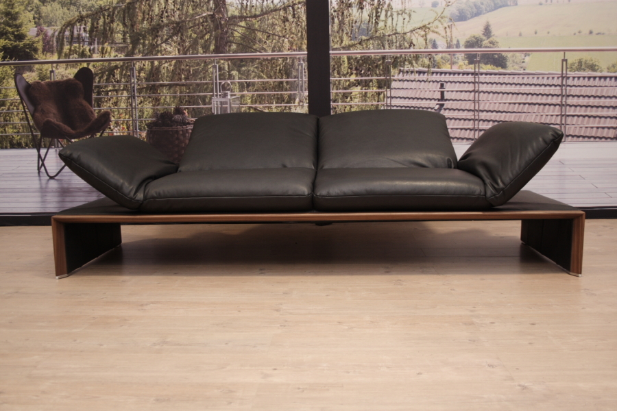 koinor modell harriet sofa in leder b buffalo shadow ebay. Black Bedroom Furniture Sets. Home Design Ideas
