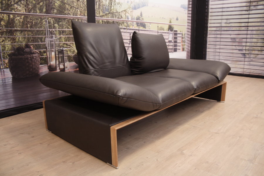 koinor modell houston sofa in leder c tabacco outlet gera. Black Bedroom Furniture Sets. Home Design Ideas