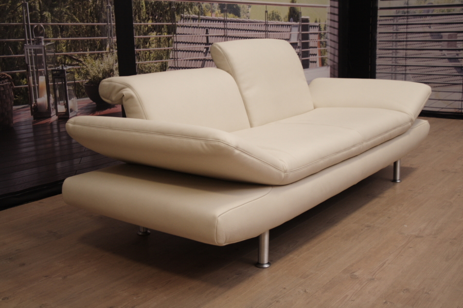koinor modell romero sofa in leder e feeling kokos ei ebay. Black Bedroom Furniture Sets. Home Design Ideas