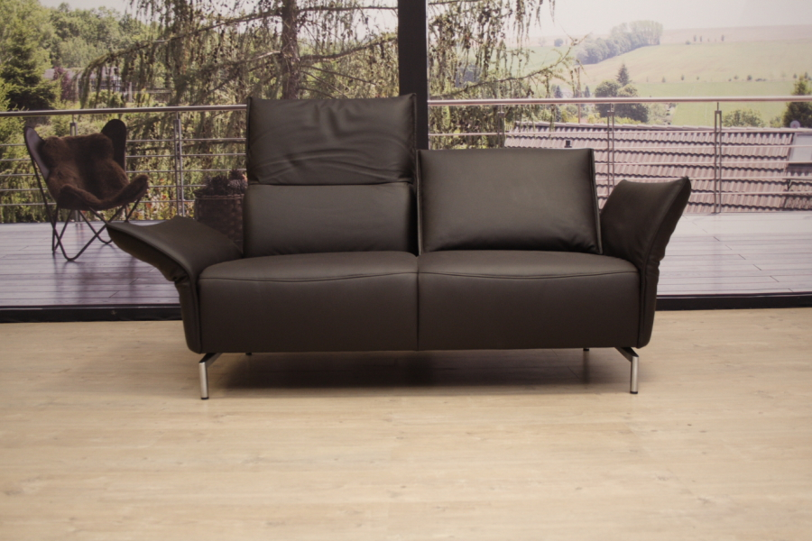 koinor modell vanda sofa b in leder b jubi braun einzelst ck ebay. Black Bedroom Furniture Sets. Home Design Ideas