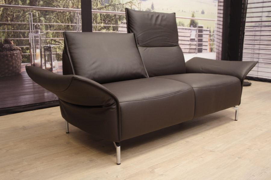 koinor modell vanda sofa b in leder b jubi braun. Black Bedroom Furniture Sets. Home Design Ideas