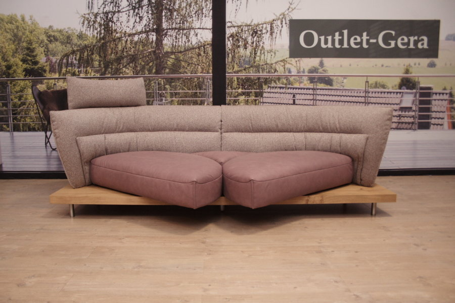 Koinor Sofa Cx Modell Pepe In Leder A India Plum Outlet Gera