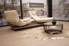 Koinor KOINOR Modell EDIT 2 Sofa C in Leder creme