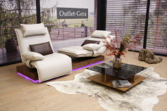 Koinor KOINOR Modell EPOS 3 Sofa in Leder A Soft crystal