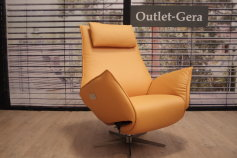 Koinor KOINOR Relaxsessel Safira VM2 in Leder orange