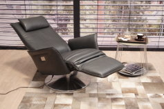Koinor KOINOR Relaxsessel Star VM2 in Leder A Soft smoke